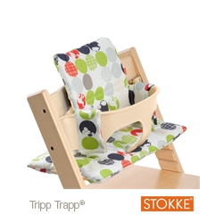 Coussin Silhouette Vert Pour Chaise Tripp Trapp Stokke