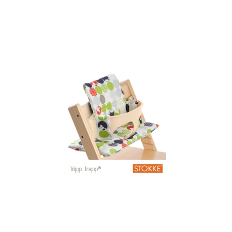 Coussin Silhouette Vert Pour Chaise Tripp Trapp Stokke Babyshome